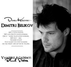 Danila Kozlovsky (@KozlovskyD) is Dimitri Belikov