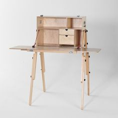 Modern Desk / Workspace - By MESS BOX via THEMOHICAN on Etsy
