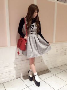 Ank Rouge  co-ordinate http://blog.ailand-store.jp/ar0097/188550