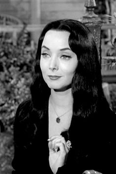 """Carolyn Jones as Morticia Addams """"Sugar, cream or cyanide?""""  Carolyn Sue Jones was an American actress. Jones began her film career in the early 1950s, and by the end of the decade had achieved recognition with a nomination for an Academy Award for Best Supporting ... Wikipedia Born: April 28, 1930, Amarillo, Texas, United States Died: August 3, 1983, West Hollywood, California, United States Height: 1.68 m Buried: Melrose Abbey Memorial Park Cemetery, Anaheim, California, United States"""