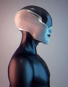 PUNK'S NOT HEAD by Hedi Xandt. (via | Punk's Not Head)  More robots here.