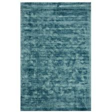 Antique Hand-Woven Teal Area Rug