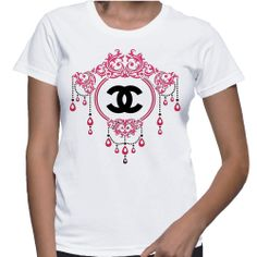 Own It! Chanel Crystal, Chandelier Tshirt http://www.etsy.com/shop/DivanessaBoutique