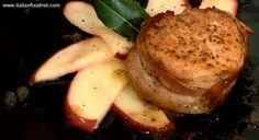 Pork Fillet with Apples (Filetto di maiale con le mele)