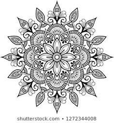 Mandala Doodle, Mandala Art, Mandala Drawing, Mandala Painting, Flower Mandala, Mandala Sketch, Mandala Design, Mandala Pattern, Dotwork Tattoo Mandala