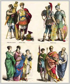 Ancient Roman costumes. Roman Legionnaire. Armed Roman commander in armor. Roman…