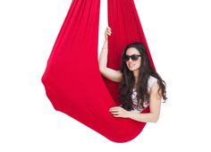Jumbo Therapy Swing - Red - up to 165 lbs