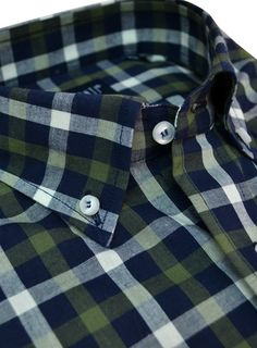 Green checked Raimonti shirt