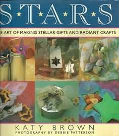 STARS CRAFT BOOK  BY KATY BROWN