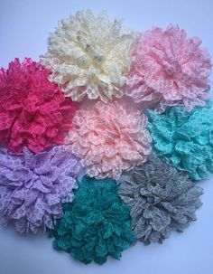 Girls Flower Headband Baby Headband Baby Hair Bow Baby