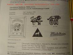 Image result for Uhrenfabrik Muhlheim, Muller and Co.