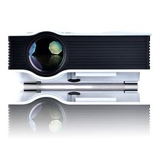 Aome Tech UC40 Pro Mini Portable LCD LED Home Theater Cinema Projector,Business projector, HD 1080P IP/IR/USB/SD/HDMI