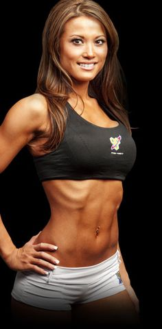 Tianna Ta's workout and diet (follow the link).  damn impressive
