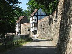 Neubrandenburg - stadsmuur
