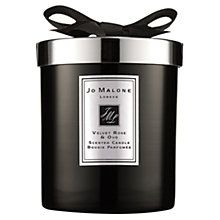 Scented candles can transform any room into a calming atmosphere like this Jo Malone candle from John Lewis
