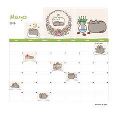 Gratis calendario Sonrisas de gato Mayo 2016