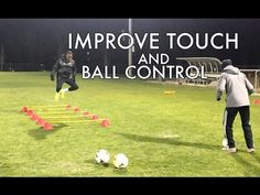 Soccer Drills to Improve Footwork and Ball Control - Plus Coach vs Player Challenge! - YouTube