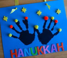 Hanukkah Week crafts!