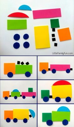 5 Kinder basteln, um die Wege zu lernen – … – Moto… Tinker 5 children to learn the ways – shape … – Motorcycle – Preschool Learning Activities, Toddler Activities, Preschool Activities, Kids Learning, Learning Shapes, Free Preschool, Educational Activities, Summer Activities, Kids Crafts