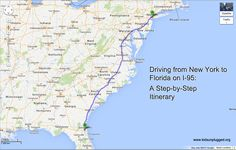 Driving From New York To Florida – A Step-by-Step Itinerary   Kids Unplugged