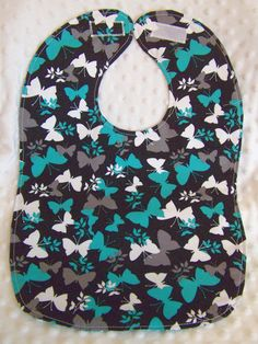 FREE SHIPPING Large Butterflies Toddler by bibsblanketsandmore, $10.00