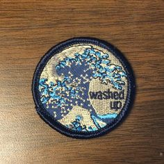 Washed Up Patch - $6.00  http://gimmeflair.com/products/washed-up-patch