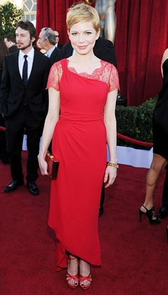 Michelle Williams (SAG Awards 2012) - She's perfect.  Absolutely perfect.