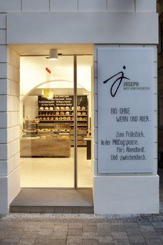 Joseph – Brot vom Pheinsten bakery interior & branding, Vienna store design branding