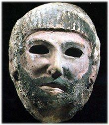 Riso sardonico e maschere ghignanti fenicie
