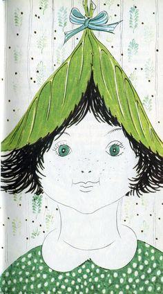 Una storia | Bruno Munari Cappuccetto verde