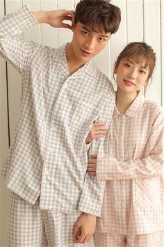 ca7f3b9fb2 Cotton Plaid Couple Pajamas Set - Alana