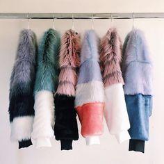 The Design Studio | Faux Fur Jackets