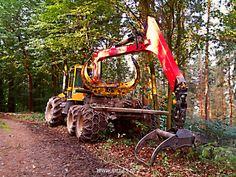 Morgens im #Stadtwald #Waldmaschine #Greifarm #Iserlohn #Sauerland #Wald #Sonnenaufgang #Weg #NRW #NordrheinWestfalen