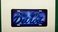 Detroit license plate