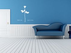 Wall color and decal