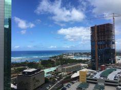 さとうあつこのハワイ不動産: コオラニからのビュー
