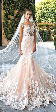 30 Totally Unique Fashion Forward Wedding Dresses ❤ See more: http://www.weddingforward.com/fashion-forward-wedding-dresses/ #wedding #dresses #fashion