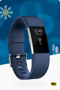 Have a person on your list who's always on the move? Fitbit Charge 2 was designed for the runners, cyclists and gym-goers who are focused on fitness. It tracks steps, calories, distance, heart rate and sleep. Plus, Charge 2 has multi-sport mode to track specific workouts, ranging from running and biking to yoga. No matter how they move through their day, Charge 2 is the perfect workout companion for their active lifestyl