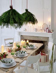 L'abat-jour végétal - christmas decoration - Marie Claire Idées