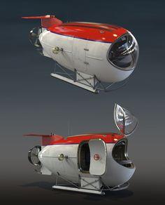 Submarine, Alexander Sorokin Concept Ships, Concept Cars, Utility Boat, Nemo, Sculpture Metal, Snorkel, Cabin Cruiser, Spaceship Design, Diving Equipment