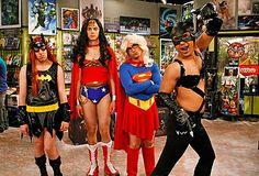 Super Hero Drag: The Big Bang Theory