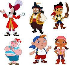 Resultado de imagen para etiquetas de jake y los piratas
