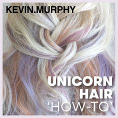 In this tutorial you'll learn how to create this candy-kissed hair colour proving that unicorns do exist.