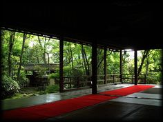 Japanese garden in Kyoto Myoshinji 京都・妙心寺