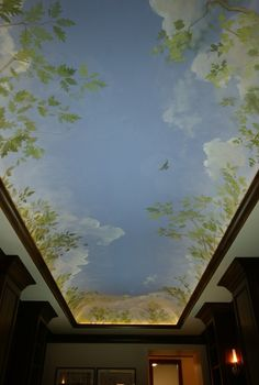 1000 ideas about cloud ceiling on pinterest ceiling for Ceiling sky mural