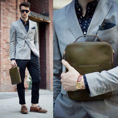 lookbookdotnu:      The Modern Man (by Marcel Floruss)  Style For Men