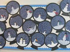 2nd Grade Website - Winter art idea!