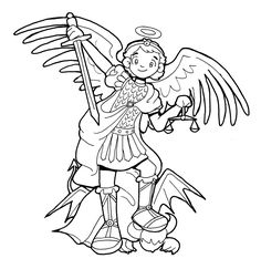 Saint John The Evangelist Catholic Coloring Page Feast day