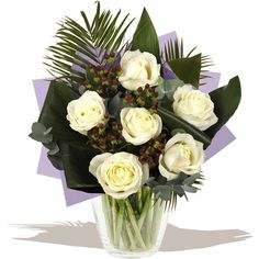 6 Luxury Rose Bouquet - White * You can get more details by clicking on the image. Gift Bouquet, Rose Bouquet, Roses Luxury, Gifts Delivered, Flowers Delivered, White Roses, Wedding Gifts, Floral Wreath, Florists