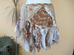 vintage inspired fantasy lace gothic bohemian gypsy by wildskin, $65.00